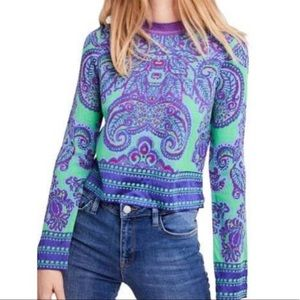 NWOT Free People New Age Crew Neck Sweater
